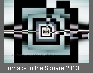 Homage to the Square 2013 von Fractal Fineart